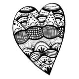 Heart shaped pattern Royalty Free Stock Photography