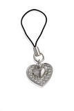 Heart-shaped  pendant Royalty Free Stock Photography