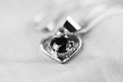 Heart shaped pendant Royalty Free Stock Photo