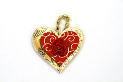 Heart-shaped Pendant Stock Images