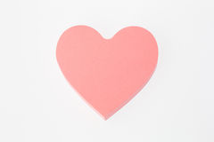 Heart-shaped Note Royalty Free Stock Photos