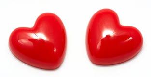 Heart shaped pin Royalty Free Stock Photography