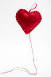 Heart shaped pincushion. Stock Image