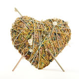 Heart shaped potpourri Royalty Free Stock Photos