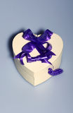 Heart shaped present box Royalty Free Stock Image