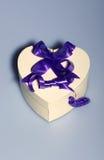 Heart Shaped Present Box Royalty Free Stock Image