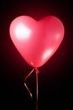 Heart shaped red balloon Royalty Free Stock Photos