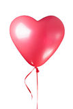 Heart shaped red balloon Royalty Free Stock Photo