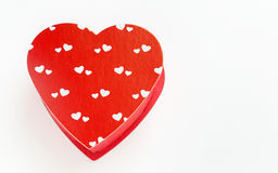 Heart Shaped Red Box Stock Photos