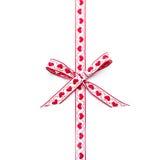 Heart shaped ribbon Royalty Free Stock Photos