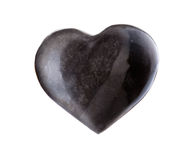 Heart-Shaped Rock Royalty Free Stock Photography