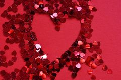 Creative abstract background, Love and Romance stock images