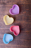 Heart Shaped Silicon Royalty Free Stock Photo