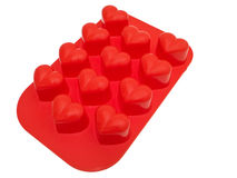 Heart shaped silicone. Royalty Free Stock Images