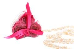 A heart shaped soap Stock Photos