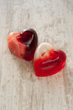 Heart shaped soap Royalty Free Stock Image