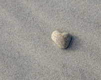 Heart Shaped Stone Royalty Free Stock Photos