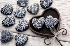Heart Shaped Stones Royalty Free Stock Image