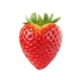 Heart-shaped Strawberry stock photo