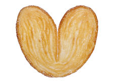 Heart shaped sugar biscuit Royalty Free Stock Photos