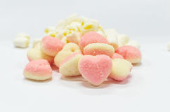 Heart shaped sugar jelly Stock Image