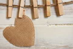 Heart Shaped Symbols stock photography