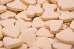 Heart-shaped Tablets Royalty Free Stock Images