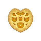 Heart-shaped Tart Stock Images