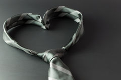Heart shaped tie Royalty Free Stock Photography