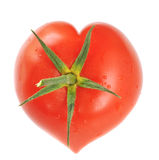 Heart shaped tomato Royalty Free Stock Image