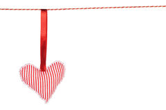 Free Heart Shaped Toy Hanging Royalty Free Stock Images - 47481269