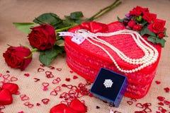 Valentine's Day Gift of Love stock photo