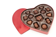 Heart Shaped Valentines Box Stock Image