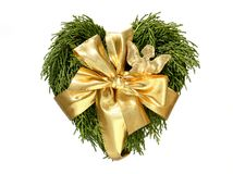 Heart shaped wreath Royalty Free Stock Photography