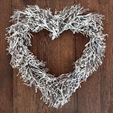 Heart Shaped Wreath Royalty Free Stock Images