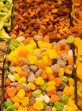 Heart shaperd delicious candy and sweets Royalty Free Stock Photos