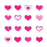 Heart shapes Royalty Free Stock Photo