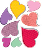 Heart-shapes Stock Images