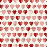 Heart Shapes Abstract Royalty Free Stock Photos