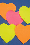 Heart shapes:  background. Stock Images
