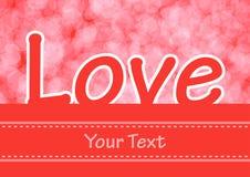 Heart Shapes Background Royalty Free Stock Image