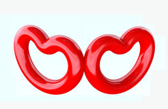 Heart shapes Stock Photography