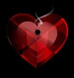 Heart shot Royalty Free Stock Photo