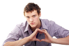 The heart sign Royalty Free Stock Photos