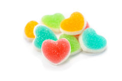Heart sign jelly Royalty Free Stock Photo