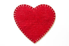 Heart sign velvet Stock Photo