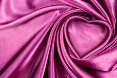 Heart silk Stock Photography