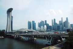 Heart of Singapore Royalty Free Stock Image