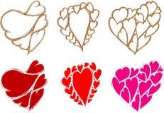 Heart Sketch Royalty Free Stock Photo