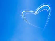 Heart in the sky Stock Photos